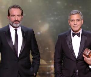 César 2017 : le discours de George Clooney traduit à la sauce Jean Dujardin