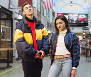 """Maisie Williams (Game of Thrones) et Olly Alexander (Years & Years) sont les nouvelles stars de la campagne """"Forever Chuck"""" de Converse."""