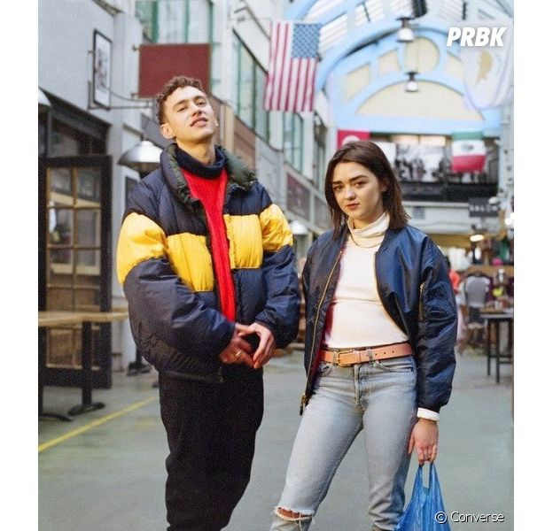 "Maisie Williams (Game of Thrones) et Olly Alexander (Years & Years) sont les nouvelles stars de la campagne ""Forever Chuck"" de Converse."