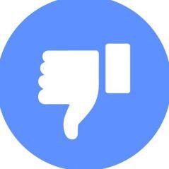 """Facebook : le bouton """"j'aime pas"""" débarque... sur Messenger 👎"""