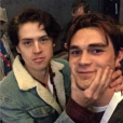 Cole Sprouse (Riverdale) et K.J. Apa au festival  South by Southwest à Austin