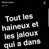"""Nikola Lozina énervé contre des haters : """"je vous em****e !"""""""
