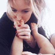 Aurélie Van Daelen, maman très occupée mais partante pour un deuxième enfant