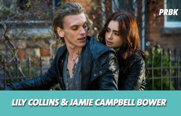 Lily Collins et Jamie Campbell Bower se sont mis en couple sur le tournage de The Mortal Instruments