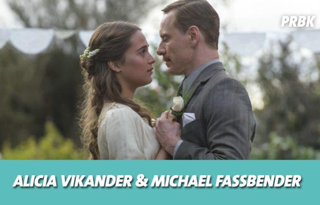 Alicia Vikander et Michael Fassbender se sont mis en couple sur le tournage de Une vie entre deux océans