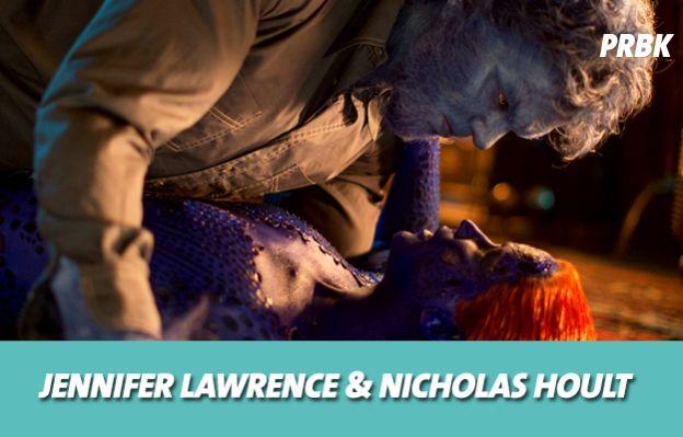 Jennifer Lawrence et Nicholas Hoult se sont mis en couple sur le tournage de X-Men