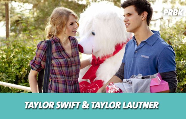 Taylor Swift et Taylor Lautner se sont mis en couple sur le tournage de Valentine's Day