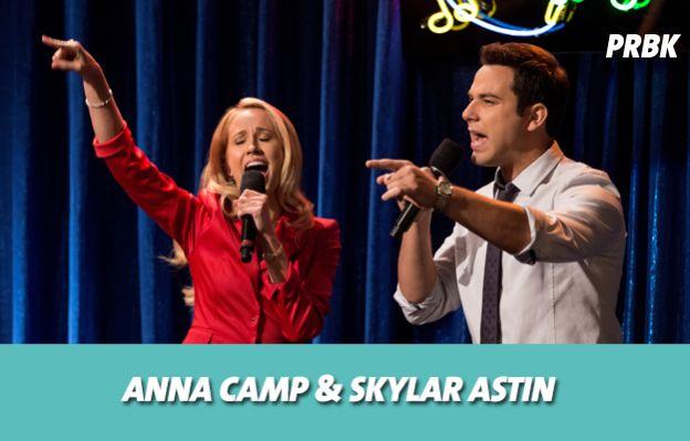 Anna Camp et Skyler Astin se sont mis en couple sur le tournage de Pitch Perfect