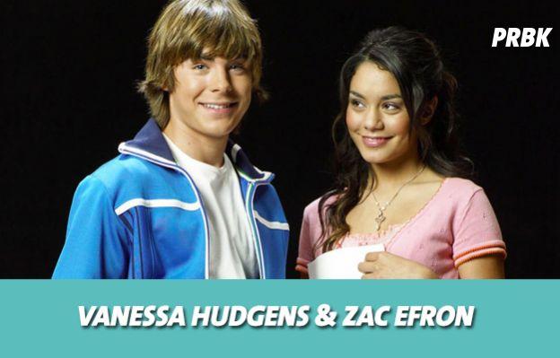 Vanessa Hudgens et Zac Efron se sont mis en couple sur le tournage de High School Musical