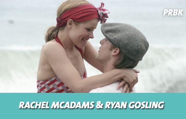 Rachel McAdams et Ryan Gosling se sont mis en couple sur le tournage de N'oublie jamais