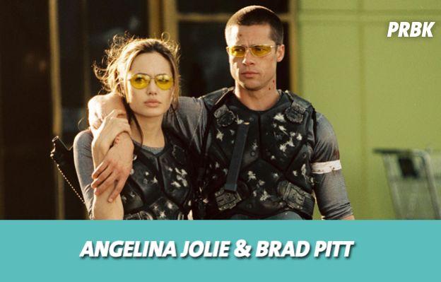 Angelina Jolie et Brad Pitt se sont mis en couple sur le tournage de Mr & Mrs Smith