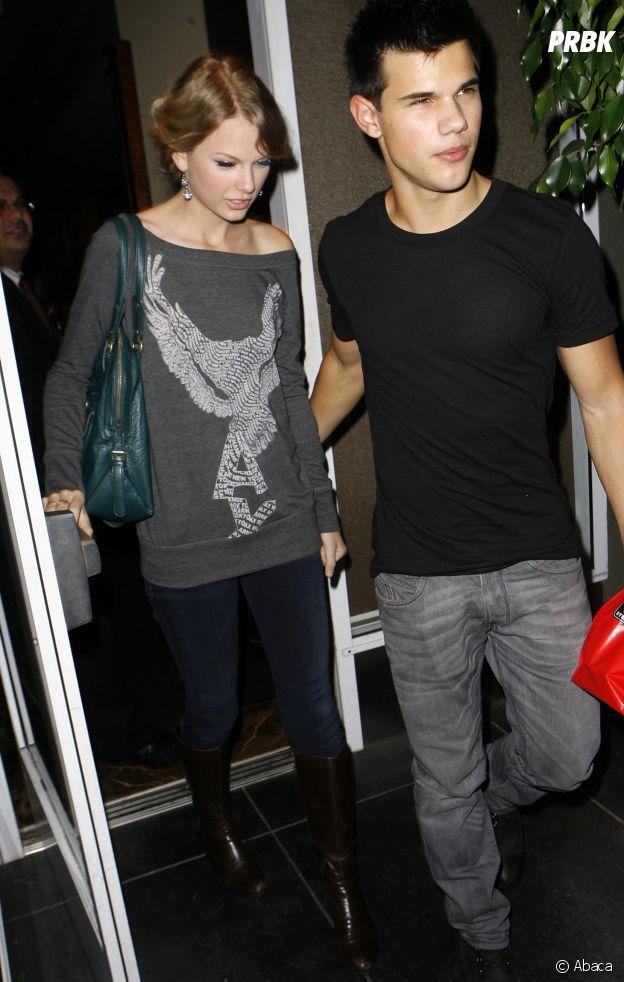 Taylor Lautner et Taylor Swift se sont mis en couple sur le tournage de Valentine's Day
