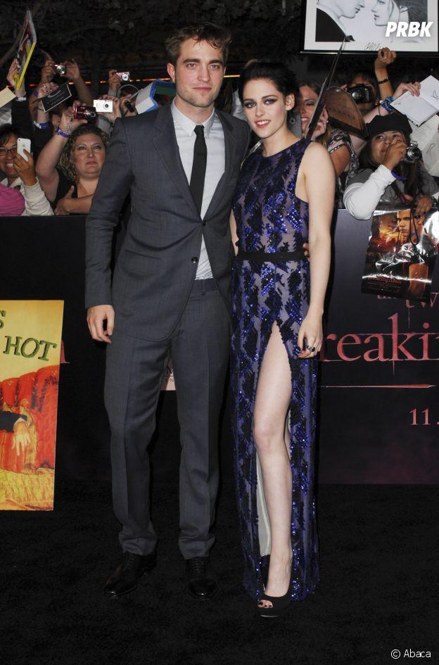 Robert Pattinson et Kristen Stewart se sont mis en couple sur le tournage de Twilight