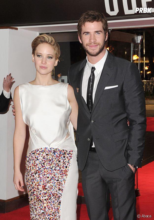Jennifer Lawrence et Liam Hemsworth se sont mis en couple sur le tournage de Hunger Games