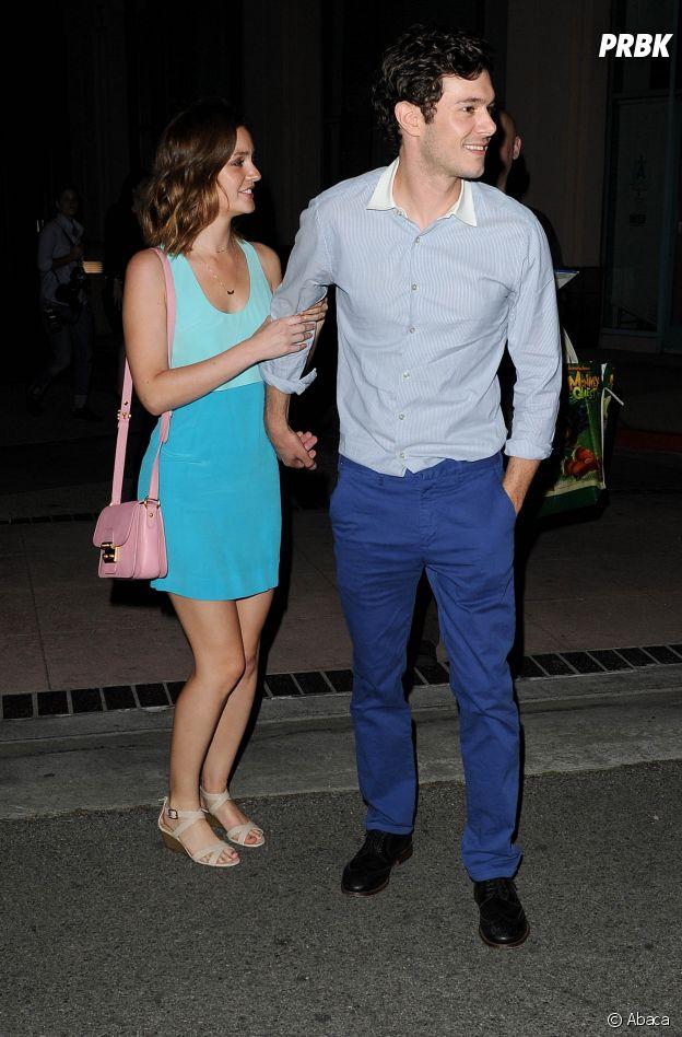 Leighton Meester et Adam Brody se sont mis en couple sur le tournage de The Oranges