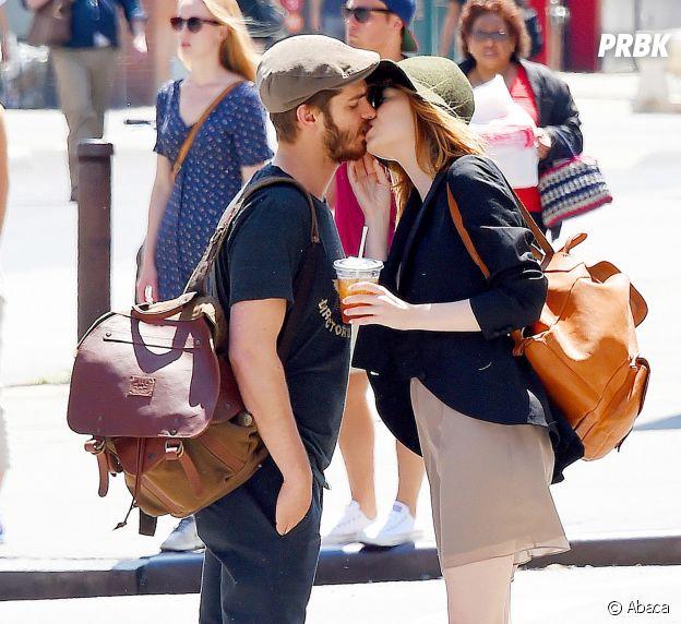 Emma Stone et Andrew Garfield se sont mis en couple sur le tournage de The Amazing Spider-Man