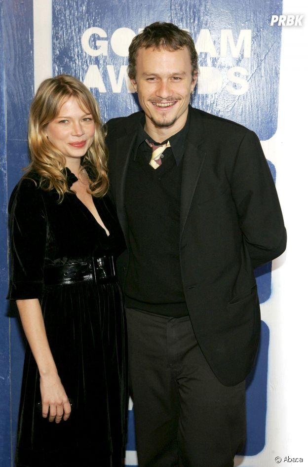 Michelle Williams et Heath Ledger se sont mis en couple sur le tournage de Brokeback Mountain