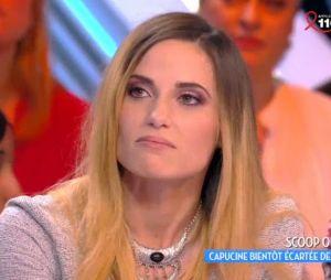 Capucine Anav bientôt virée de TPMP ? La chroniqueuse est inquiète