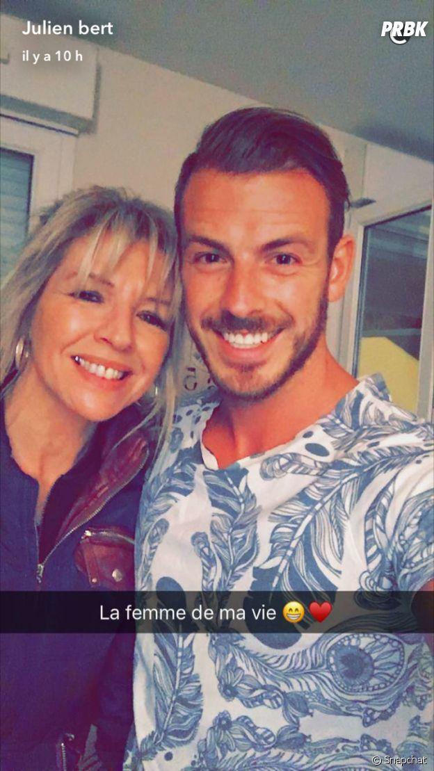 Julien Bert (Les Anges 9) a retrouvé sa maman en France
