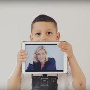 Des enfants s'imaginent président et jugent Emmanuel Macron et Marine Le Pen