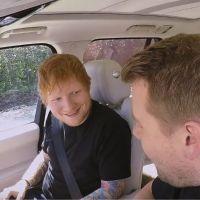 Ed Sheeran dévoile son talent WTF pendant son Carpool Karaoke avec James Corden