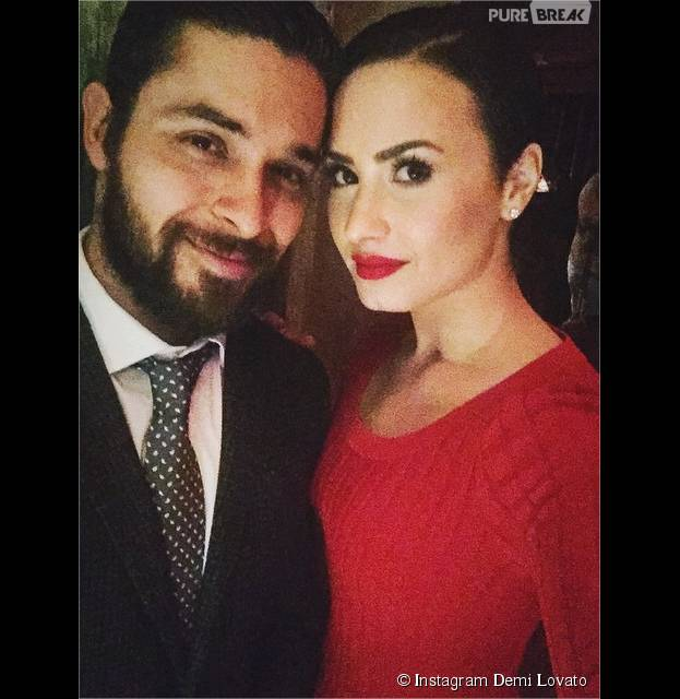 Demi Lovato et son ex Wilmer Valderrama toujours aussi proches