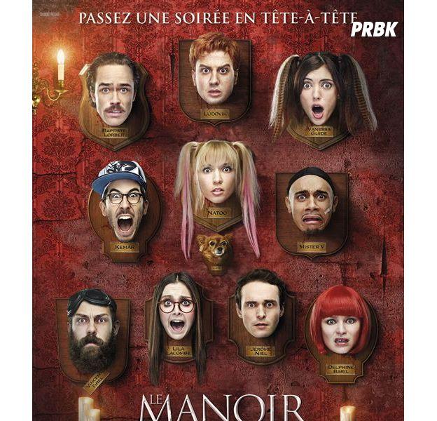 """Le Manoir : un film de YouTubeurs ? Pas du tout """"On est de jeunes comédiens"""""""