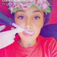 Coralie Porrovecchio : son secret pour des lèvres pulpeuses sans injections