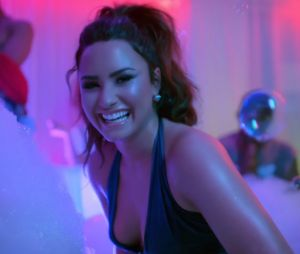 """Le clip """"Sorry Not Sorry"""" de Demi Lovato."""