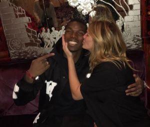Paul Pogba a rencontré Julia Roberts, et elle lui a même fait un bisou !