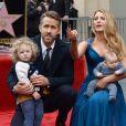 Blake Lively, Ryan Reynolds et leurs filles James et Inez