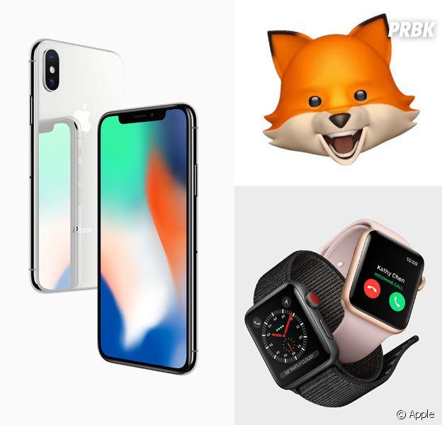 iPhone X, AniMojis, iPhone 8... toutes les nouveautés de la Keynote d'Apple