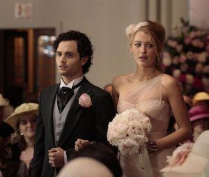 Gossip Girl : Blake Lively et Penn Badgley dans la série