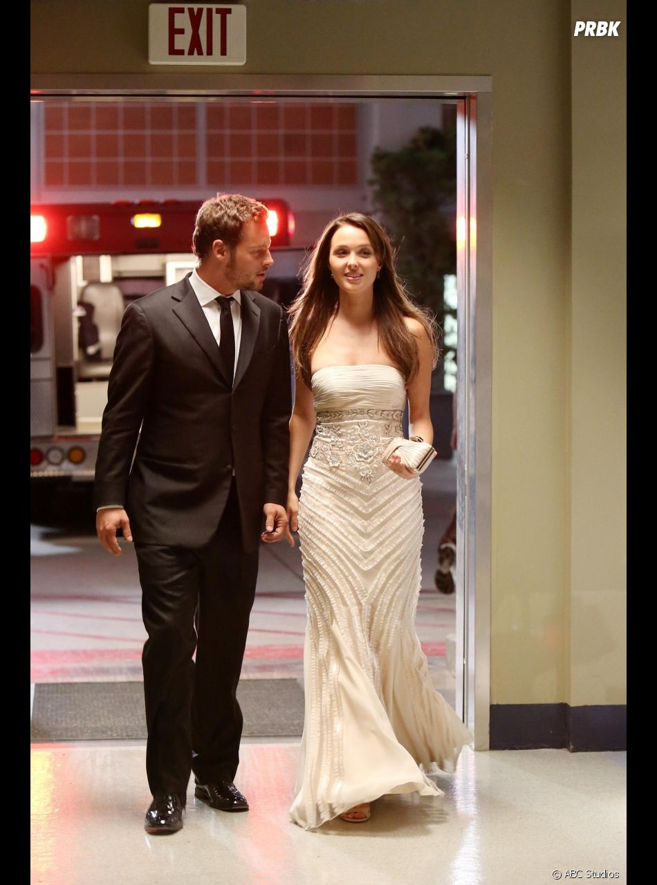 Grey's Anatomy : la photo originale de Jo et Alex au gala dans l'épisode 4 de la saison 10