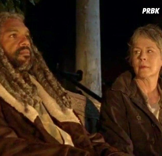 The Walking Dead saison 8 : Ezekiel et Carol bientôt en couple ?