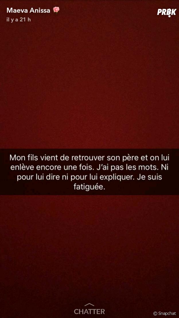 Maeva Anissa réagit sur Snapchat après la condamnation de Rohff
