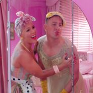 "Clip ""Beautiful Trauma"" : Pink et Channing Tatum parodient la vie de couple"