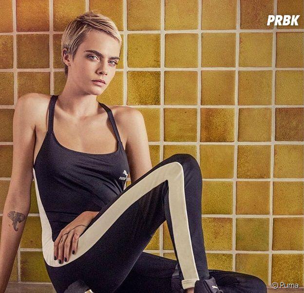 Cara Delevingne en égérie sportive pour les nouvelles baskets Puma !
