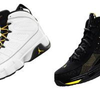 Foot Locker ressort deux paires de chaussures mythique ... Les Jordan retro 9 et les ISO