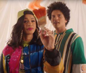 """Clip """"Finesse"""" : Bruno Mars et Cardi B nous replongent dans les années 90"""