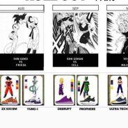 Adidas x DBZ : les sneakers de Son Goku, Vegeta débarquent... Toute la collab dévoilée en images