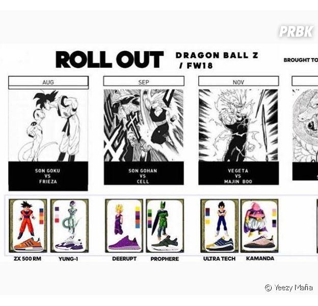 Adidas x DBZ : les sneakers de Son Goku, Vegeta... Toute la collection dévoilée en images !