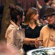 Selena Gomez et Woody Allen sur le tournage de A Rainy Day in New York