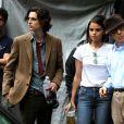 Selena Gomez, Timothée Chalamet et Woody Allen sur le tournage de A Rainy Day in New York