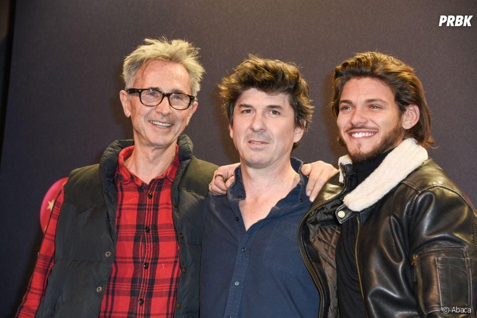 Rayane Bensetti présent au festival de l'Alpe d'Huez aux côtés de Thierry Lhermitte et Robin Sykes