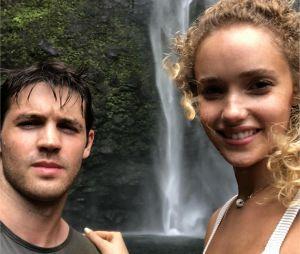 Steven R. McQueen : la star de The Vampire Diaries s'est fiancé avec Allie Silva