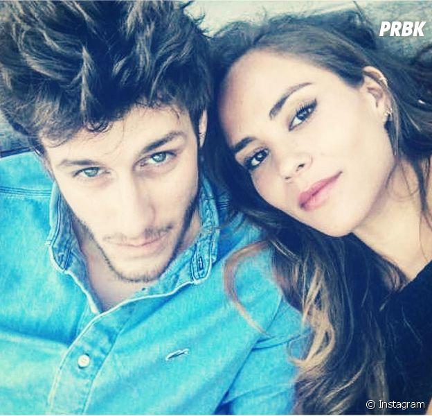 Jean-Baptiste Maunier pose avec sa petite amie Léa Arnezeder pour la Saint Valentin