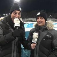JO de Pyeongchang 2018 : un journaliste craque en direct, Martin Fourcade se moque
