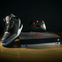 Xbox One X : 3 consoles collector aux couleurs des Air Jordan III 😍