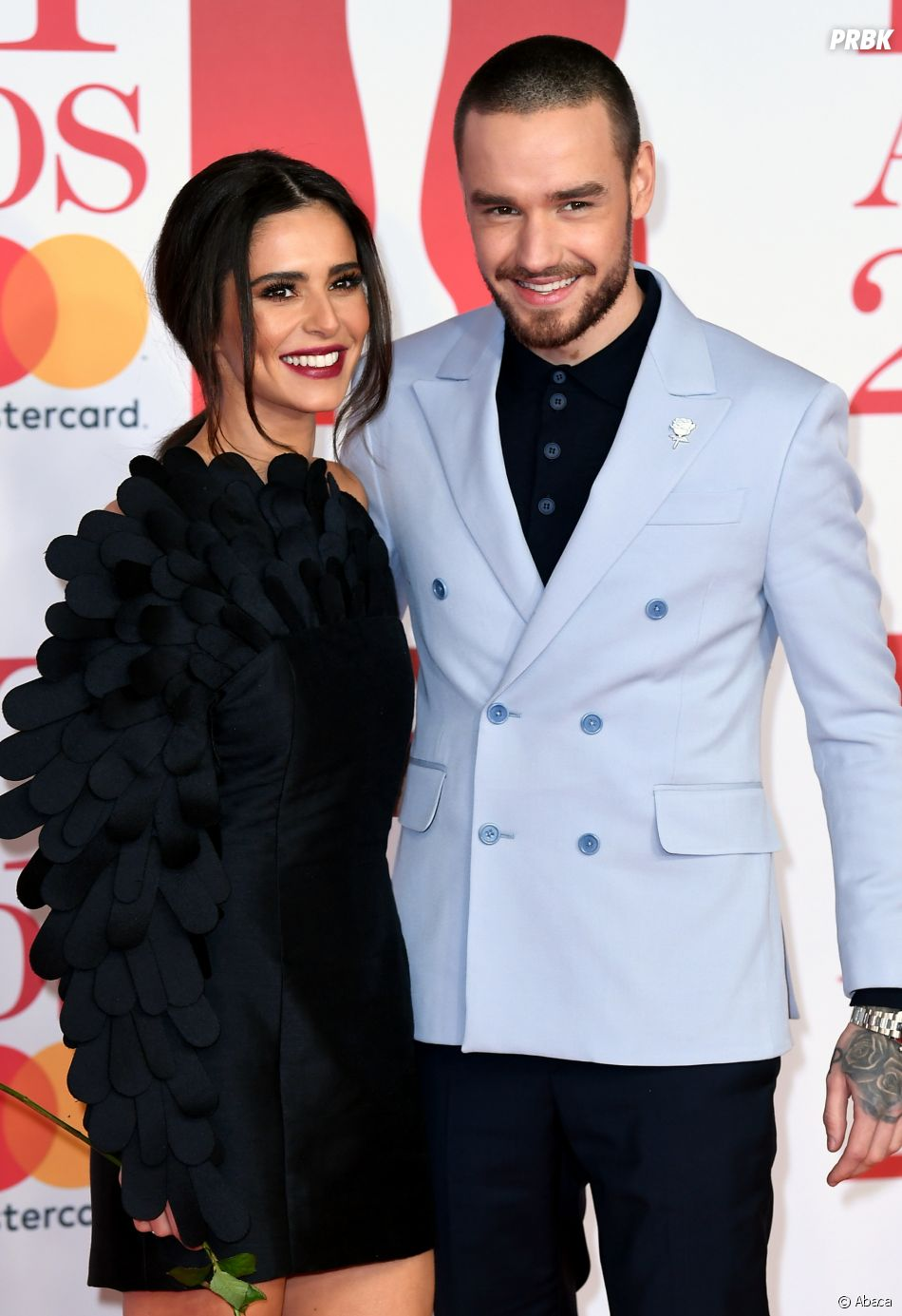 Liam Payne et Cheryl Cole toujours en couple aux BRIT Awards 2018 le 21 février à Londres